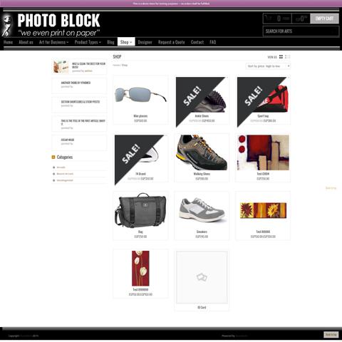 PhotoBlock ECommerce